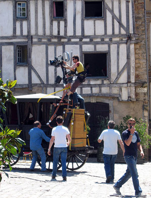 tournage film Dordogne