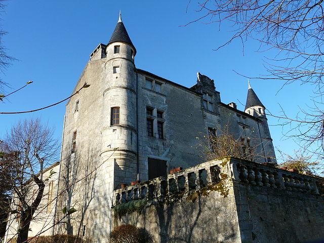 Brantôme - Le château de Puymarteau