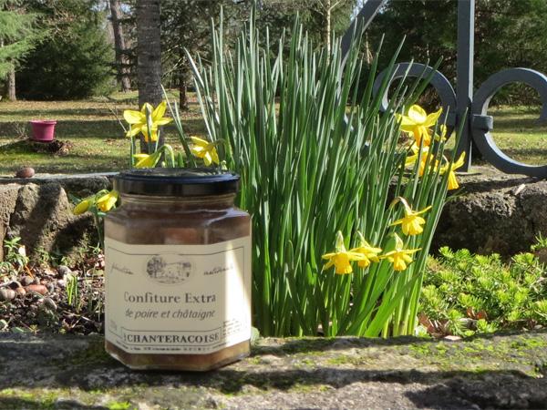 La Chanteracoise - La confiture poire et châtaigne