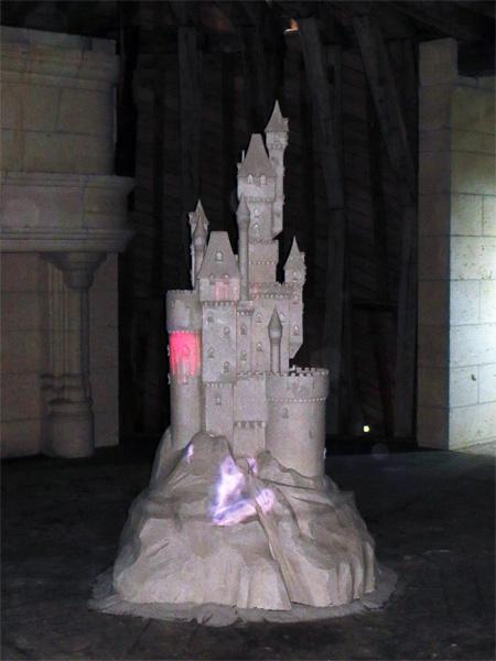 Un incroyable château de sable