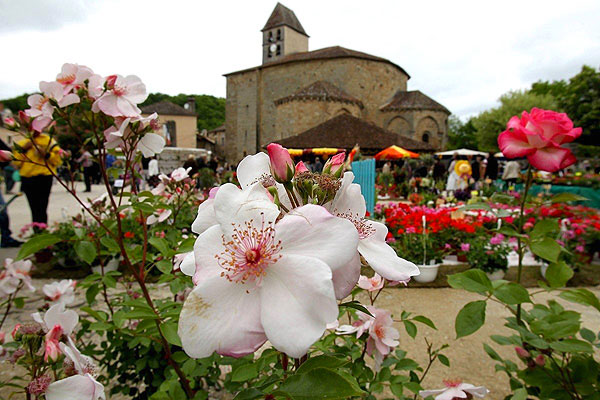Les floralies de Saint Jean de Cole - Photo extraite du site officiel