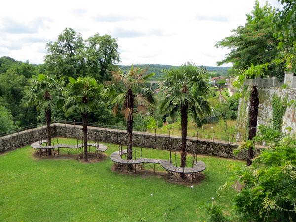 Le jardin des arts à Nontron