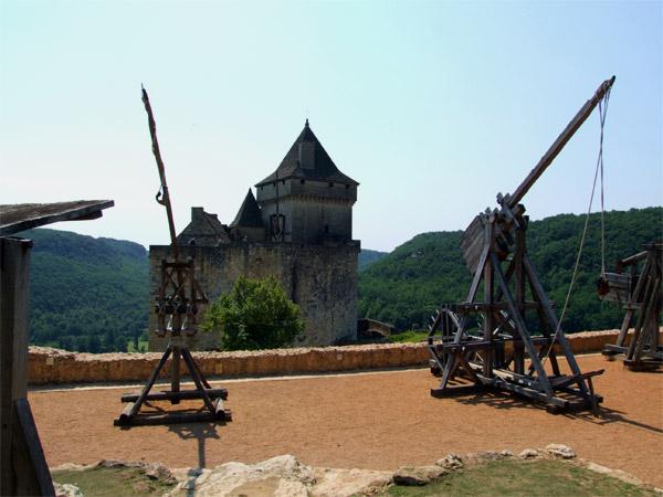 Le chateau de Castelnaud- Trébuchet