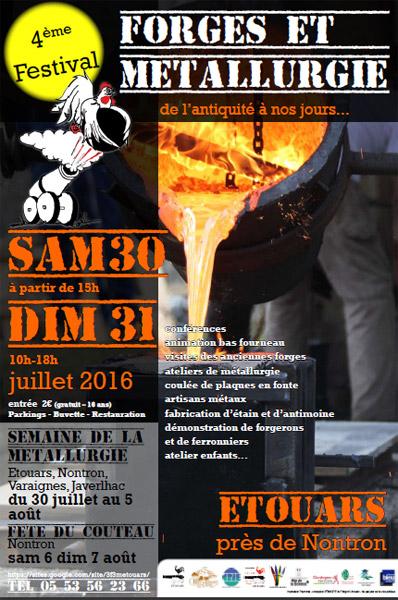 Festival Forges et Métallurgie
